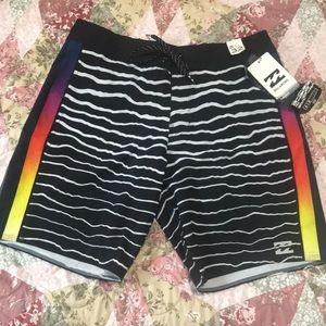 RARE Billabong Airlite Surf Shorts